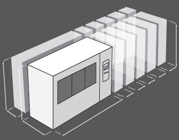 Korozní komora Ascott CorroFlex - rozměry lze přizpůsobit